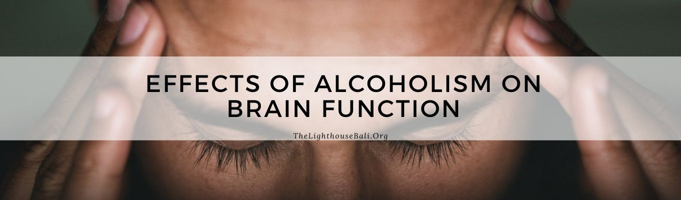 Alcohol and brain function