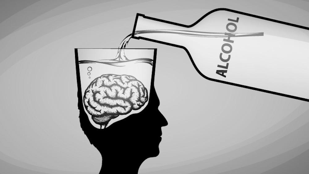 alcohol brain function